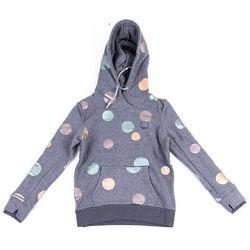 bluza BENCH - Her. Hoody Metallic Dots Metallic Dot Print On Winter G (P1367)