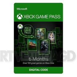 Subskrypcja Xbox Game Pass (6 m-ce) [kod aktywacyjny]