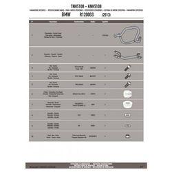 KAPPA KNH5108 GMOLE OSŁONY SILNIKA BMW R1200GS 13 - GÓRNE