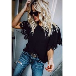 Damska bluzka BESINDA BLACK