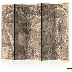 SELSEY Parawan 5-częściowy - Parawan: Mapa ( Amerigo Vespucci! )