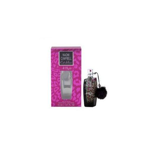 Wody toaletowe damskie, Naomi Campbell Cat Deluxe At Night woda toaletowa 15 ml SZYBKA DOSTAWA - ODBIERZ SPRZĘT NASTĘPNEGO DNIA - SPRAWDŹ SZCZEGÓŁY !