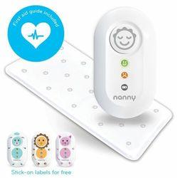 Monitor oddechu Nanny plus GRATIS nebulizator - wyrób medyczny na bezdech wcześniaków i niemowląt