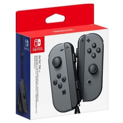Nintendo SWITCH Joy-Con Pair Grey - kontrolery (szare)