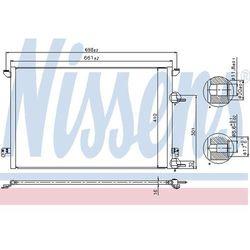 Skraplacz, klimatyzacja NISSENS 940320