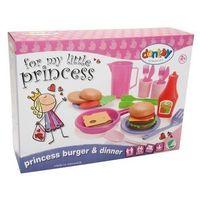 Pozostałe zabawki, Zestaw obiadowy burgery Princess