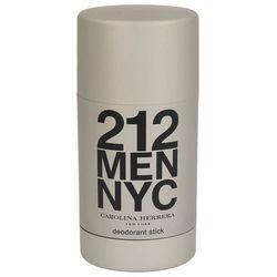 Carolina Herrera 212 Men Dezodorant w sztyfcie 75 ml /PRAWDZIWE RATY 10x0% ! TYLKO DO NIEDZIELI. / CODZIENNIE NOWA OFERTA DNIA - SPRAWDŹ!