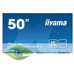 IIYAMA Monitor 50 cali LH5050UHS-B1 4K,24/7,AMVA3,LAN,DAISY