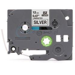 Taśma Brother TZE-931 srebrna/czarny 12mm x 8m zamiennik