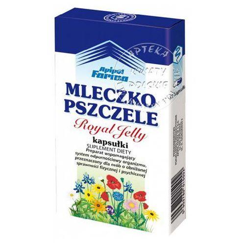 Leki na przeziębienie i grypę, Mleczko pszczele liofilizowane x 32 kaps