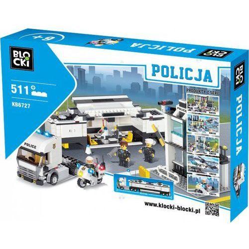 Klocki dla dzieci, Klocki Blocki Policja Centrum dowodzenia 511 elementów