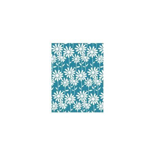 AWD INTERIOR Zasłonka prysznicowa niebieska białe kwiatki AWD02101210, AWD02101210