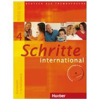 Książki do nauki języka, Schritte International 4:: Paket - Kb + Ab Mit Audio - Cd + Gloss. (opr. miękka)