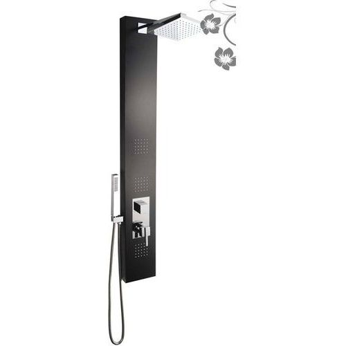 Panel prysznicowy czarny IN-8708B