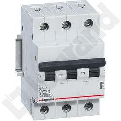 Legrand RX3 Wyłącznik nadprądowy 3P C20 419236