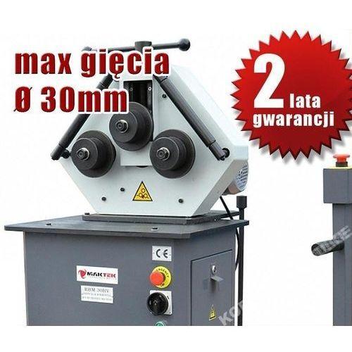 Giętarki, GIĘTARKA WALCARKA ZWIJARKA WALCE DO RUR I PROFILI MAKTEK RBM 30HV - EWIMAX promocja (--7%)