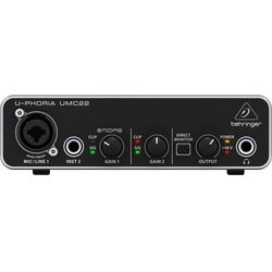 """Behringer UMC22 - interfejs audio USB -5% na pierwsze zakupy z kodem """"START""""!"""
