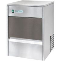 Kostkarki do lodu gastronomiczne, Kostkarka do lodu typu cylindrycznego 26 kg/24 h, pojemność zasobnika 6 kg, 0,22 kW, 420x528x655 mm | STALGAST, 871126