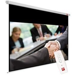 Ekran elektryczny 240x200cm AVTek Business ELECTRIC 240 - Matt White (ramki 2,5cm + top 48,2cm, obraz 235x146,8 cm)