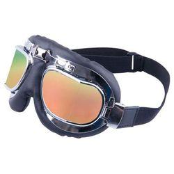 Okulary motocyklowe W-TEC S-3 złote