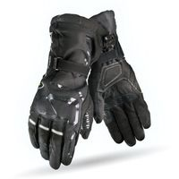 Rękawice motocyklowe, RĘKAWICE SHIMA EVO 2 CZARNE wodoszczelne
