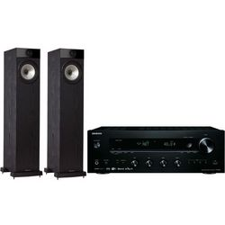 Zestaw stereo ONKYO TX-8250B + FYNE AUDIO F501 Czarny