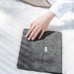 Ugreeen eleganckie etui torba pokrowiec na tablet laptopa iPad 12,9'' szary (LP187 60984)