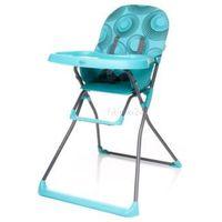 Krzesełka do karmienia, 4Baby Krzesełko do karmienia FLOWER turkusowe