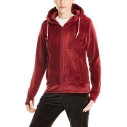 bluza BENCH - Fleece Zip Through Hoody Cabernet (RD11343) rozmiar: S