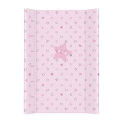 Przewijak usztywniany Ceba różowe gwiazdki