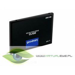 GOODRAM Dysk CL100 G3 480GB SATA3 2,5