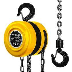 Wyciągarka łańcuchowa 3000 kg Vorel 80753 - ZYSKAJ RABAT 30 ZŁ