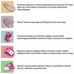 Kapcie profilaktyczne dla dzieci Dawid 1041 - Różowy   Granatowy