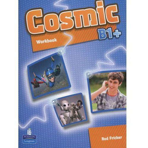 Książki do nauki języka, Cosmic B1+, Workbook (zeszyt ćwiczeń) plus Audio CD (opr. miękka)