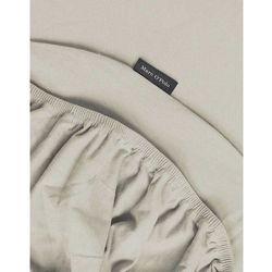 Prześcieradło jersey z gumką w odcieniu beżu, prześcieradło z jerseyu na materac beżowe, 90 x 200 cm, 100 x 220 cm, Marc O'Polo