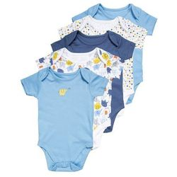 mothercare BOYS ELEPHANT BABY 5 PACK Body brights multicolor