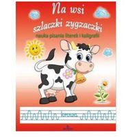 Książki dla dzieci, Na wsi. Szlaczki i zygzaczki. Nauka pisania literek i kaligrafii (opr. miękka)