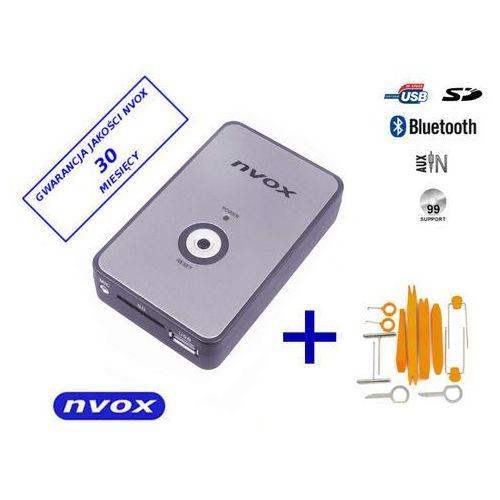 Zmieniarki samochodowe, NVOX NV1080B BT BMW 10PIN Zmieniarka cyfrowa emulator MP3 USB SD BMW 10PIN BT