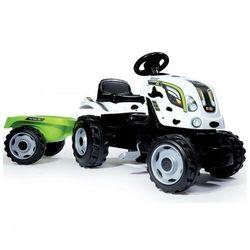 Rower dla dzieci Traktor XL Krówka Smoby