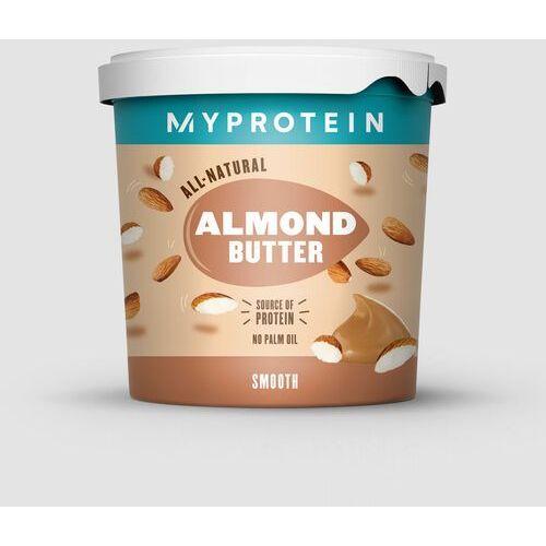 Pozostałe odżywki dla sportowców, Almond Butter Smooth - Tub - 1kg