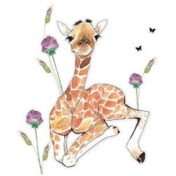 Karnet Swarovski kwadrat Żyrafa - Clear Creations OD 24,99zł DARMOWA DOSTAWA KIOSK RUCHU