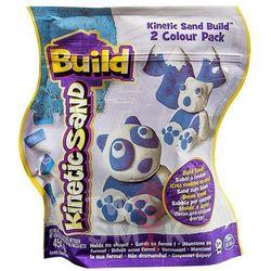 Piasek Kinetic Sand Build konstrukcyjny 2 kolory niebieski-biały 454g Spin Master 5909980N