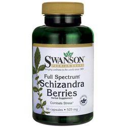Cytryniec chiński owoce 525mg Schizandra Berries 90 kapsułek SWANSON