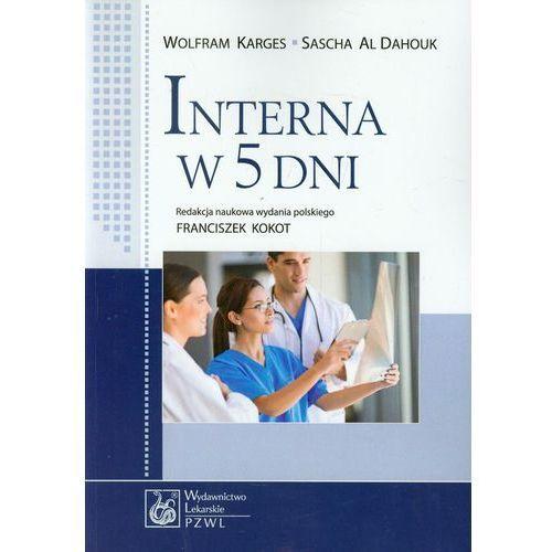 Książki medyczne, Interna w 5 dni (opr. miękka)