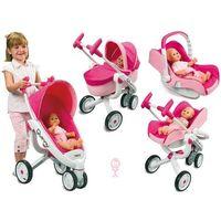 Wózki dla lalek, SMOBY Wózek dla lalek Gondola 5w1 MAXI COSI QUINNY