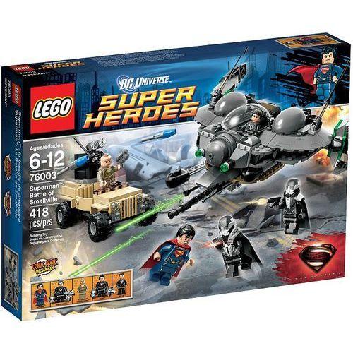 Klocki dla dzieci, Lego SUPER HEROES Bitwa o smallville 76003