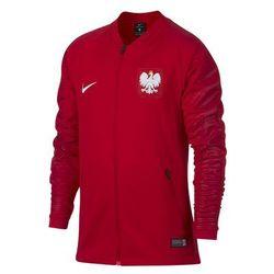 APOL56j: Polska - bluza rozpinana junior Nike