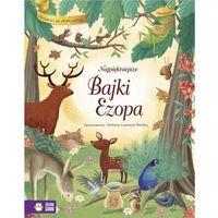 Książki dla dzieci, Najpiękniejsze bajki Ezopa (opr. twarda)