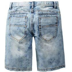 Bermudy dżinsowe Loose Fit bonprix niebieski