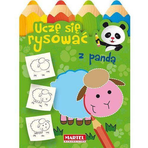 Książki dla dzieci, Uczę się rysować z pandą - Praca zbiorowa (opr. miękka)
